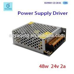 DC 24V 2A 50W Switching Power Supply for LED Illuminated AC 110/220V
