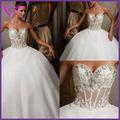 Preços promocionais!!! Fábrica do oem o projeto personalizado a cor nude de cetim vestido de noiva