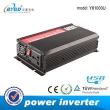 Off grid modified solar energy inverter,dc ac 1000 watt inverter