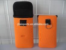 New functional rubber/neoprene cell phone case