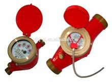 auto water meter Rotary Vane Wheel Wet-dial Water Meter