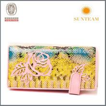 High quality new belt wallet women snake skin