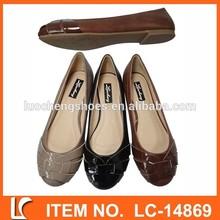 treccia design balletto scarpe da donna