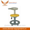 Foshan gladent aço e base de pu móveis usados unidades dentárias/confortável fezes dentista