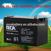 Good Quality UPS 220V Dry Battery 12V For UPS 12V 100Ah UPS Battery