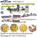 Di alta qualità Kelloggs corn flakes/coco palla cereali alimentari estrusore macchina/impianto di produzione
