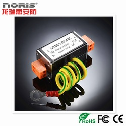 Factory security product coaxial lightning surge protection