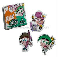 Custom Flexible Paper Fridge Magnet/promotion paper fridge magnet stickers