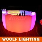 Rental LED party/nightclub/bar furniture LED bar table/counter