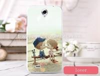 Colorful cartoon mobile phone case for lenovo a850 case