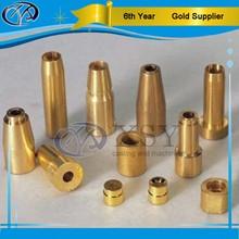 custom cnc precision drilling brass