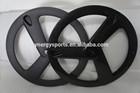chinese carbon bicycle wheels /3 spoke rims/carbon tri spoke wheels 700c