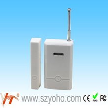 Intelligent Door sensor with low voltage SMS alert, wireless door contact supplied Self-check