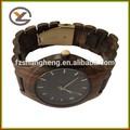 2014 alti vendita calda all'ingrosso di qualità oem classico orologio di legno orologi da polso al quarzo uomo di legno