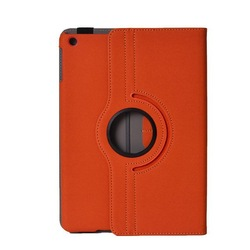 Rotating Flip Stand Leather Case for Ipad air 2 PU leather 360 Rotating Case for ipad 6