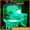 Room Decoration Ideas RGB Submersible LED Glow Light With Remote