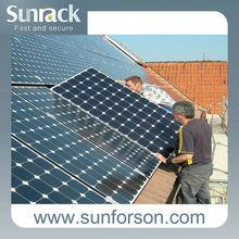 50 kw solar panel mounting/home solar kit/solar racks for rooftop