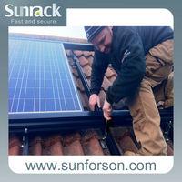 all aluminum mounting rail/solar panel installation kit/solar mounting/brackets solar system