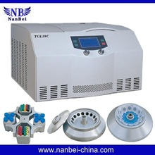 LCD display table top blood bank refrigerated centrifuge