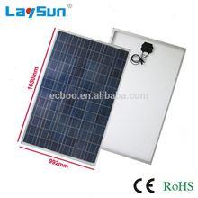 Laysun 12v 300w solar panel have pass ce rohs fcc ul
