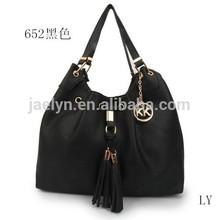 2014 new MK designer bags women bags, imitation brand designer lady bags, Large Leather Drawstring Shoulder Bag