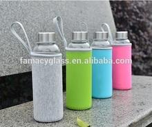 Borosilicate Glass Water Bottle (According To Customer's Design)