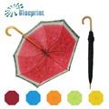auto open parapluie bâton de bois souvenirs de promotion