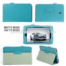 Fashion trends leather case for Dell venue 7 3730, leather case for Dell case