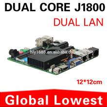 2014 New J1800 mini motherboard J1800 mainboard industrial mini itx with 1*HDMI,5*USB for 2 lan port