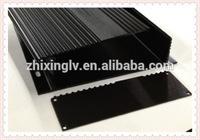Aluminum Extrusion Sections Enclosure BOX 168*40-150 Length/Aluminum Extrusion Box