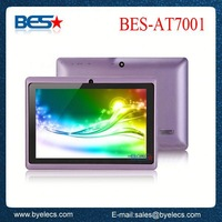 Economic entry level 512MB/4GB memory android 4.0 q88 laptop q7 tablet pc