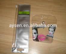 Custom Logo Resealable Plastic Zip Pouch