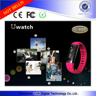 2014 new fashion smart watch U9 android gps smart watch phone U9 Pedometer