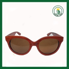 Wooden Sunglasses with top quality promotion , 100%handmade wood sun glasses UV400 protective
