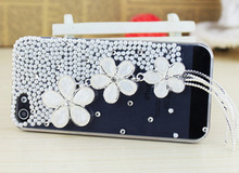 Factory Wholesale rhinestone beaded cell phone case