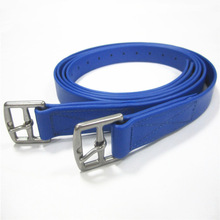 western pvc horse stirrup with stainless steel buckle