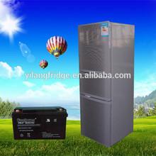 Yilang 188L solar dc 12v refrigerator dc fridge outdoor fridge battery refrigerator car refrigerator