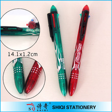 Promotional wholesale 4 in 1 pen with logo print