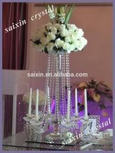 New ! bling crystal candlestick flower holder event decoration ZT-153B