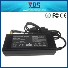 Made in china led light power supply power adapter 18v 3.3a 4.74A 90W 5.5*3.0 black with pin inside