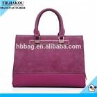 Fashion New model PU custom metal logo for handbags for women