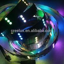 Hot sale dream color smd5050 144led/m 12v 5m/roll smd1812 led strip for christmas