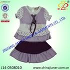 jianer new arrival 100%cotton summer fashion design kids girl clothes