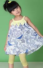 beautiful design children kids girl dresses for summer wear