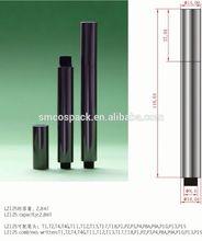 2.8ml glossy gold empty click mechanism cosmetic teeth whitening pen