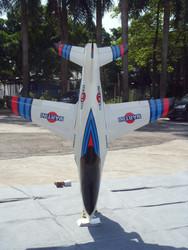 Turbora JET fiber glasses RC Jet Trainer turbojet airplane