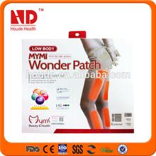 New Natural Korea Powerful Mymi Wonder healthy Herbal Leg Slimming Patch