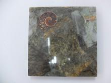 Natural gemstone labradorite marble adhesive for decoration