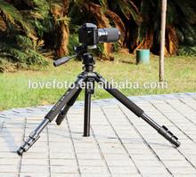 Professional 67'' Pro Camera Tripod WF-6663A with 3-Way Pan Head Bag For Canon Nikon DSLR Camera / Camcorder