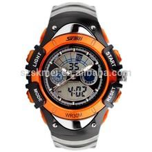 Sports boys and girls waterproof digital children wrist watch for gift